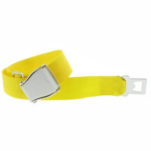 ceinture jaune avion