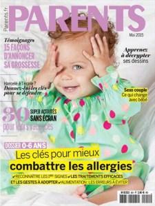Parents Magazine - couverture - Mai 2015